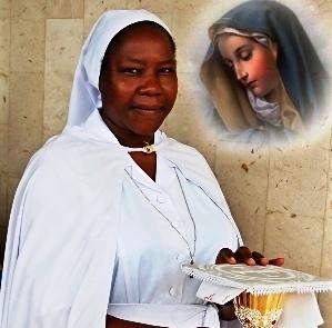 Jubilé d'argent de sœur Germaine