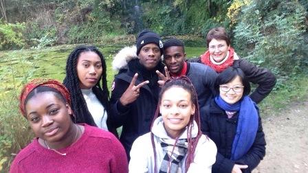 Une retraite avec des étudiants de Villejuif