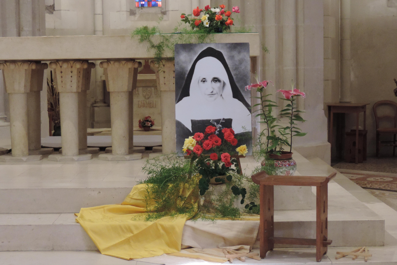 13 décembre, fête de Mère Marie-Joseph Moreau, à la Pommeraye.