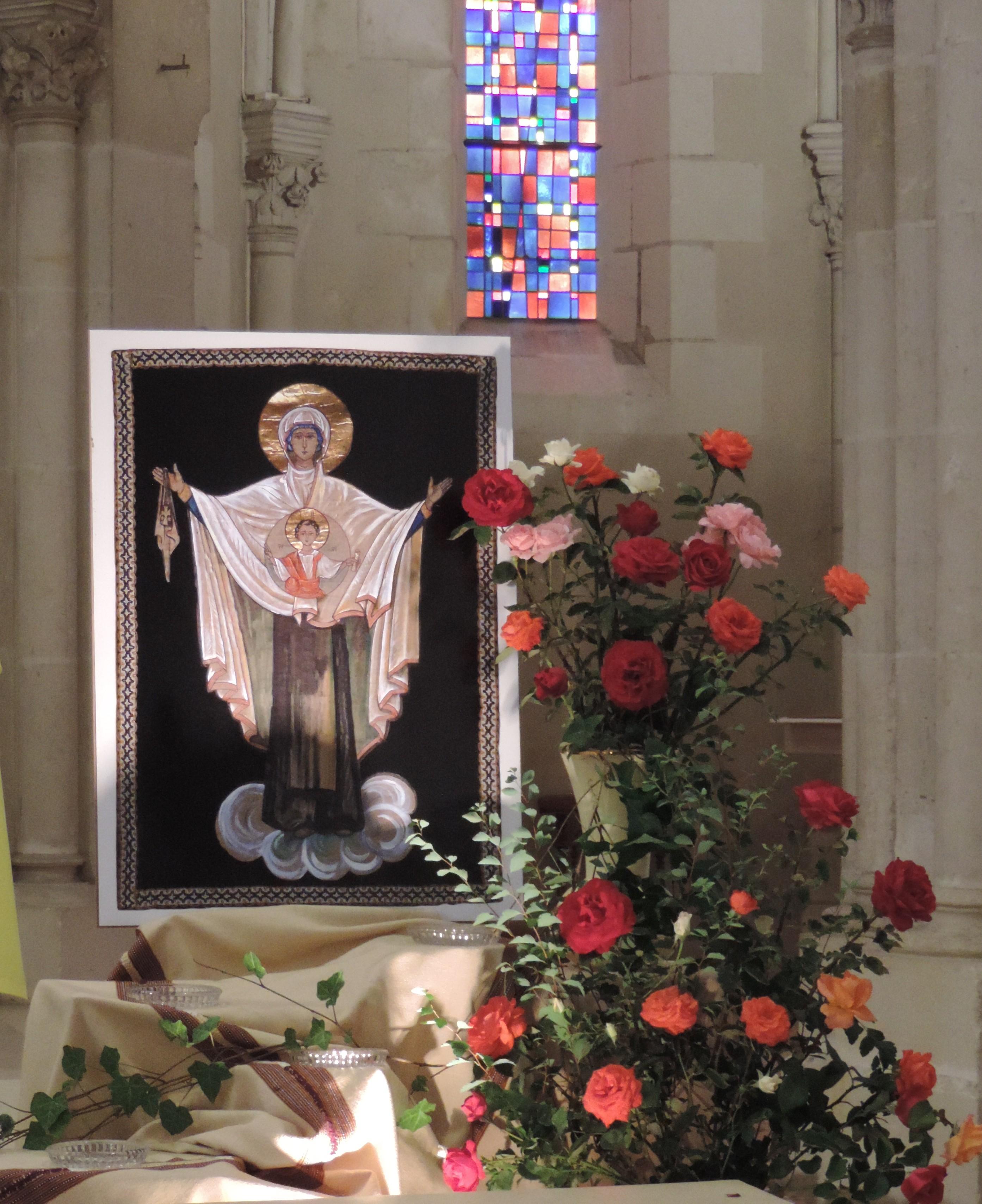 16 juillet, Fête de Marie Reine et beauté du Carmel