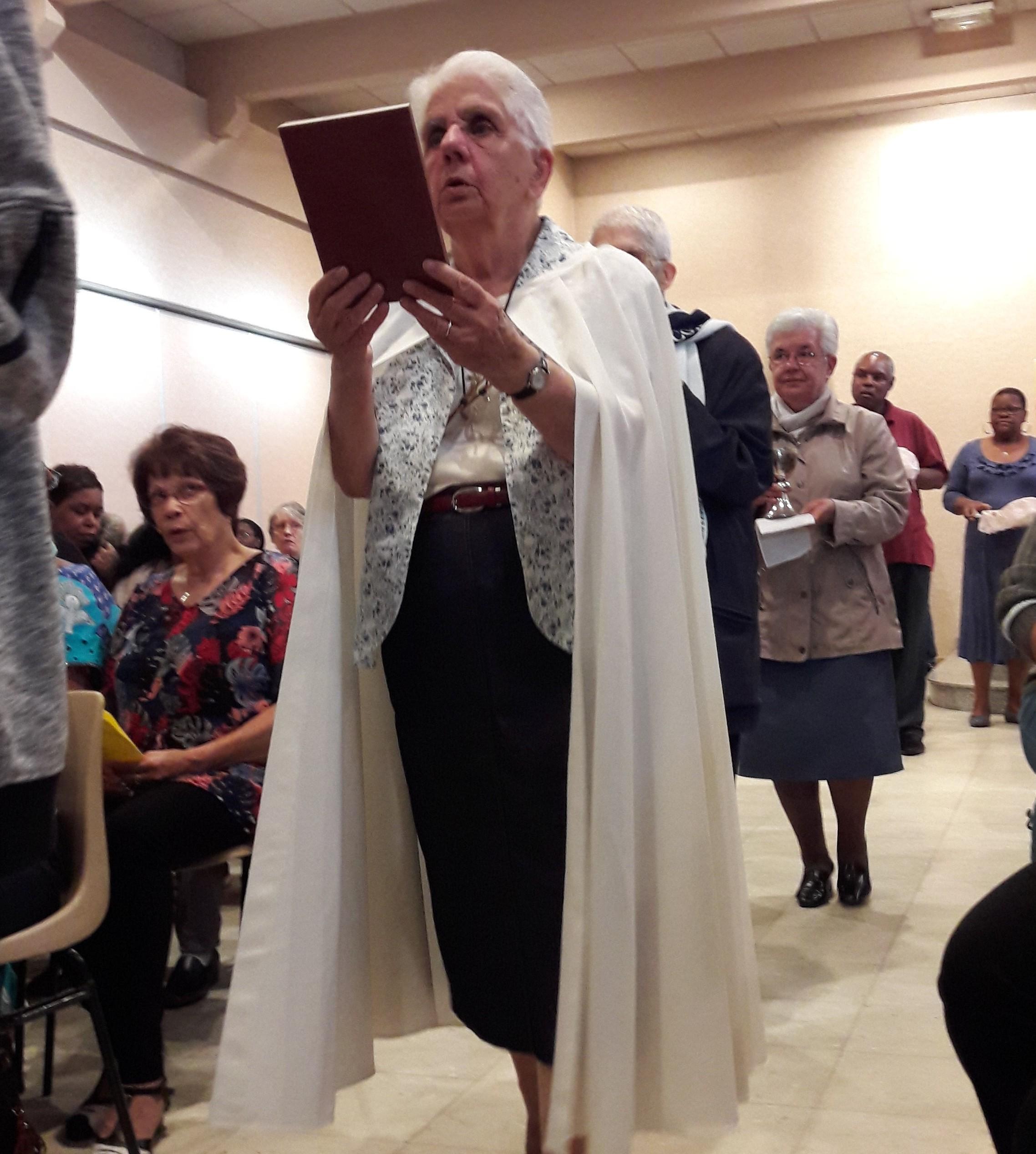 Action de grâces pour soixante ans de vie religieuse