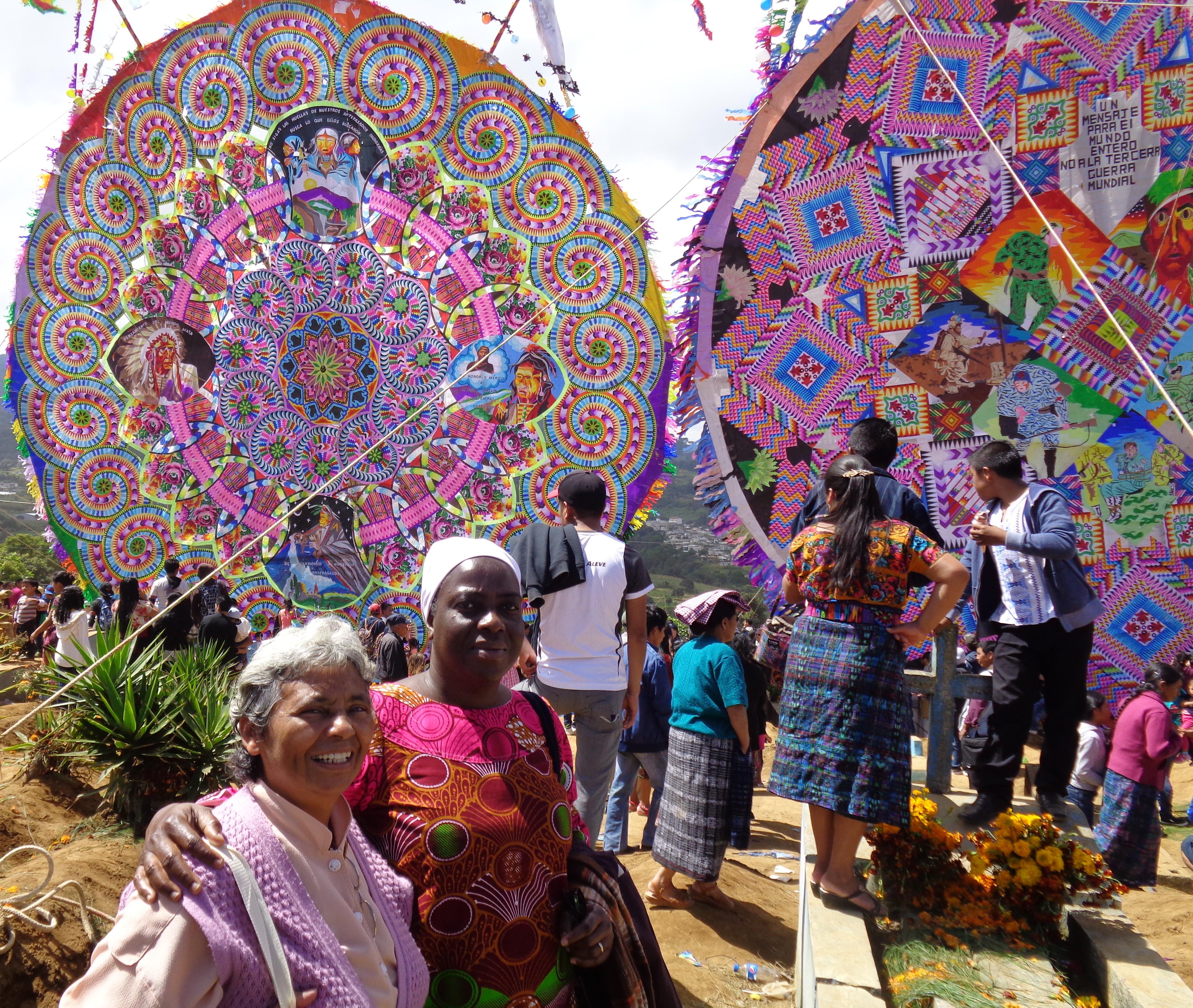 Au Guatemala, une tradition pleine de couleurs.