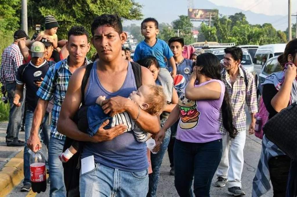 la Caravana de migrantes Hondureños : una Tragedia humana