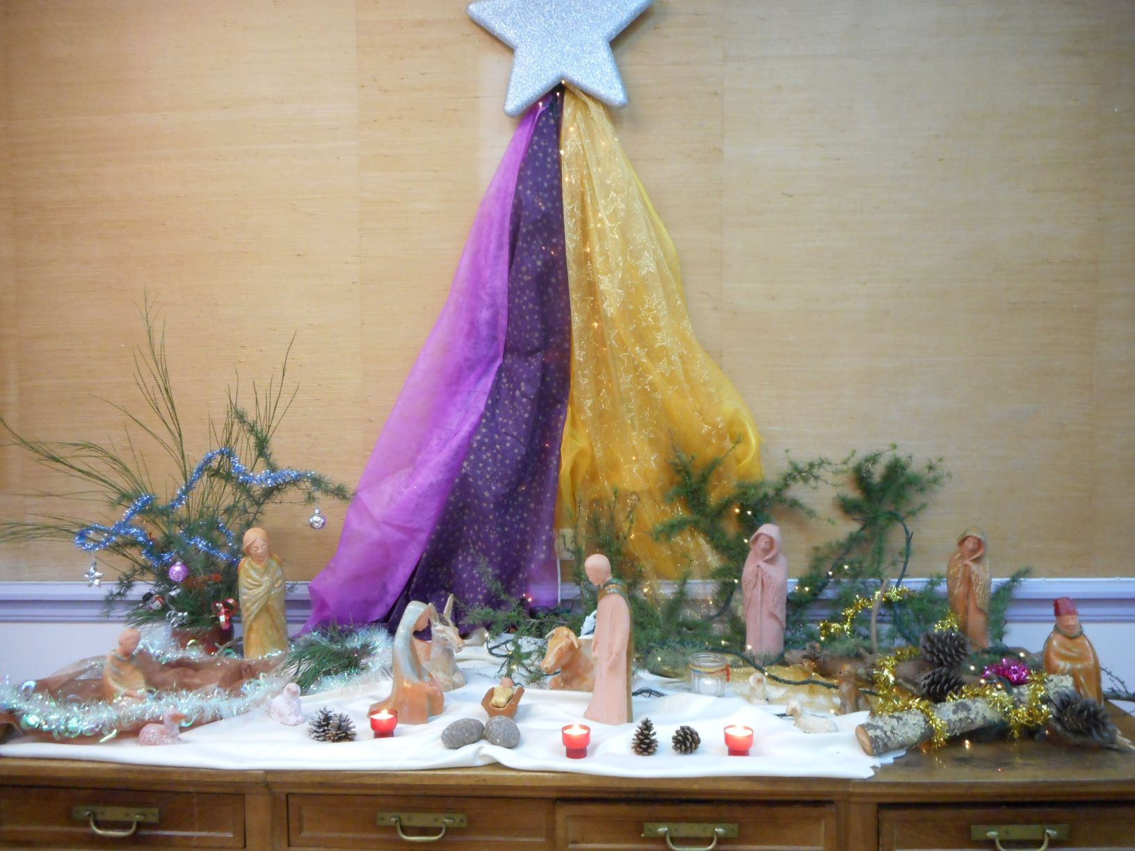 Navidad en el Ehpad, Françoise d'Andigné de la Pommeraye