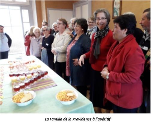 Rencontre de la Famille de la Providence à la Pommeraye