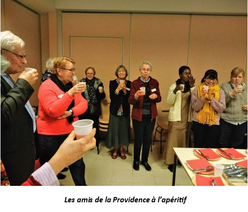 RENCONTRE DES AMIS DE LA PROVIDENCE DE LA RÉGION PARISIENNE