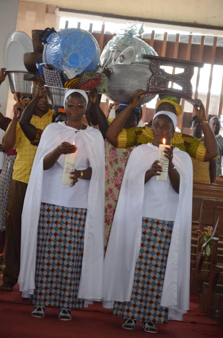 Deux vœux perpétuels en Afrique