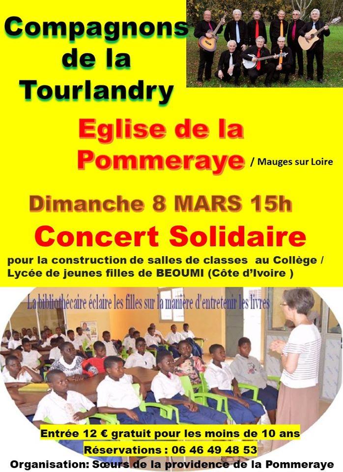 Un concert solidaire à la Pommeraye