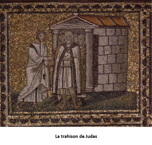 Judas trahit Jésus