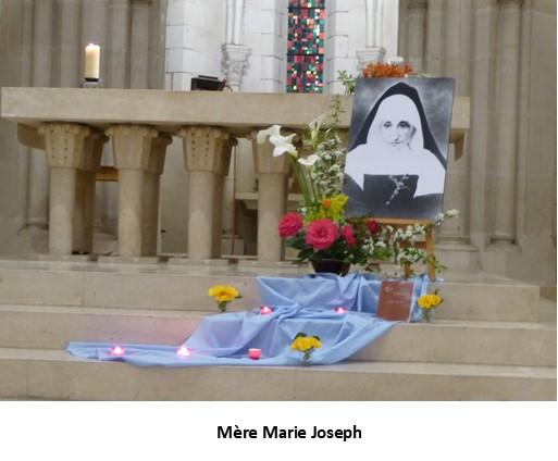 Célébration de l'anniversaire de naissance de Mère Marie Joseph