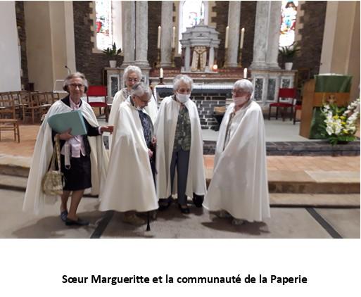 Départ des sœurs de la communauté de la Paperie. St Barthélémy