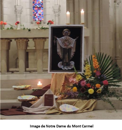 Fête de Notre Dame du Mont Carmel à la Pommeraye