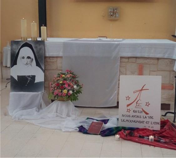 Premier engagement de vie religieuse dans la Congrégation de la Providence de la Pommeraye